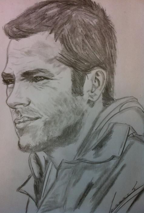 Chris Pine por MaarekM